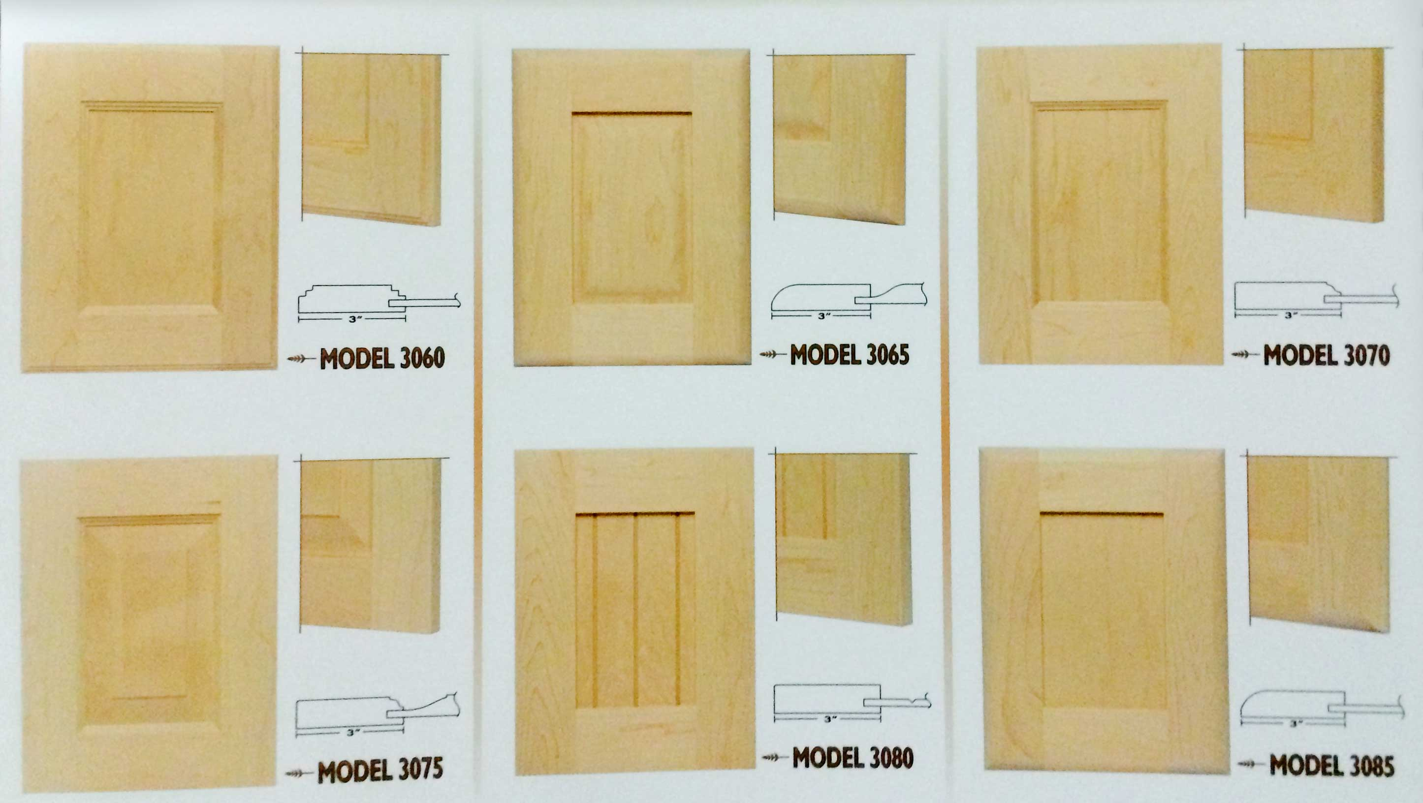 Calgary Custom Kitchen Cabinets Ltd Door Profiles